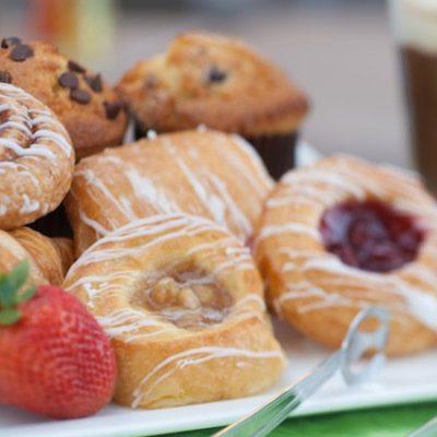 Muffins and Danish